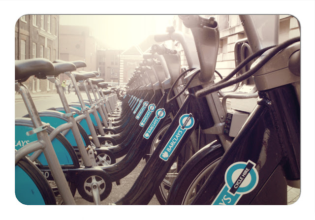 Boris' Bikes - London