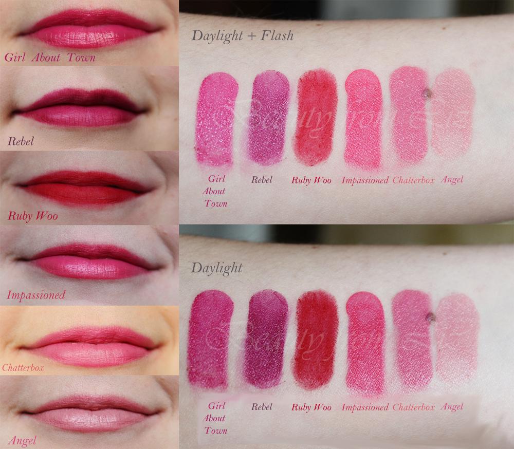 Mac Cremesheen Lipstick Swatches | MAC Cosmetics ...