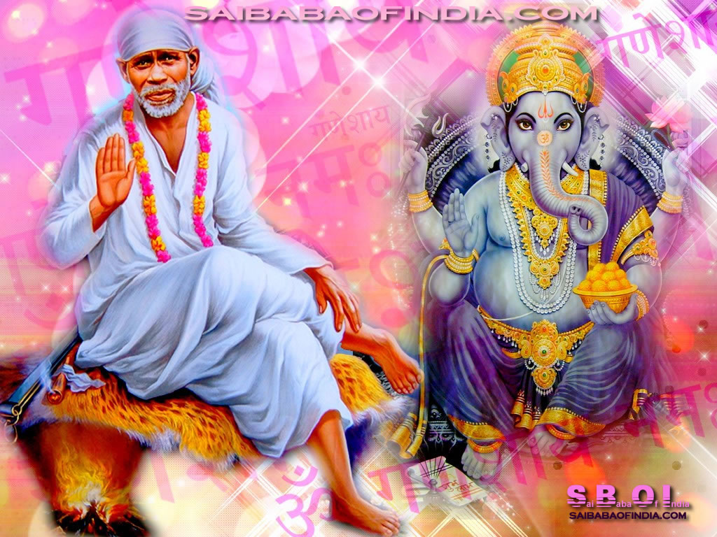 sai baba images for desktop
