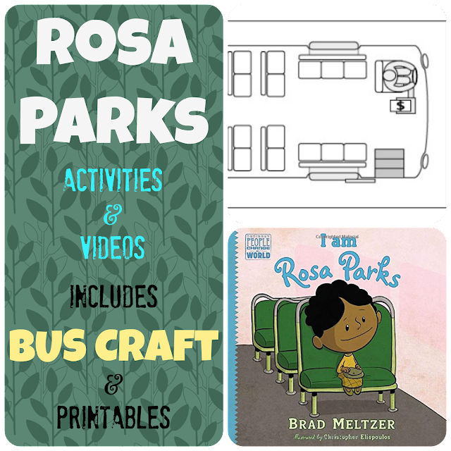 Rosa Parks Bus Story: Videos and Activities