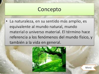 ¿Que es la Naturaleza?