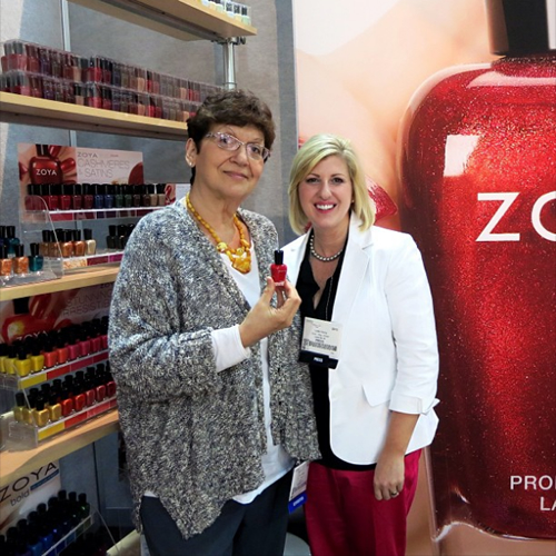 work/play/polish with Zoya Reyzis, founder of Zoya