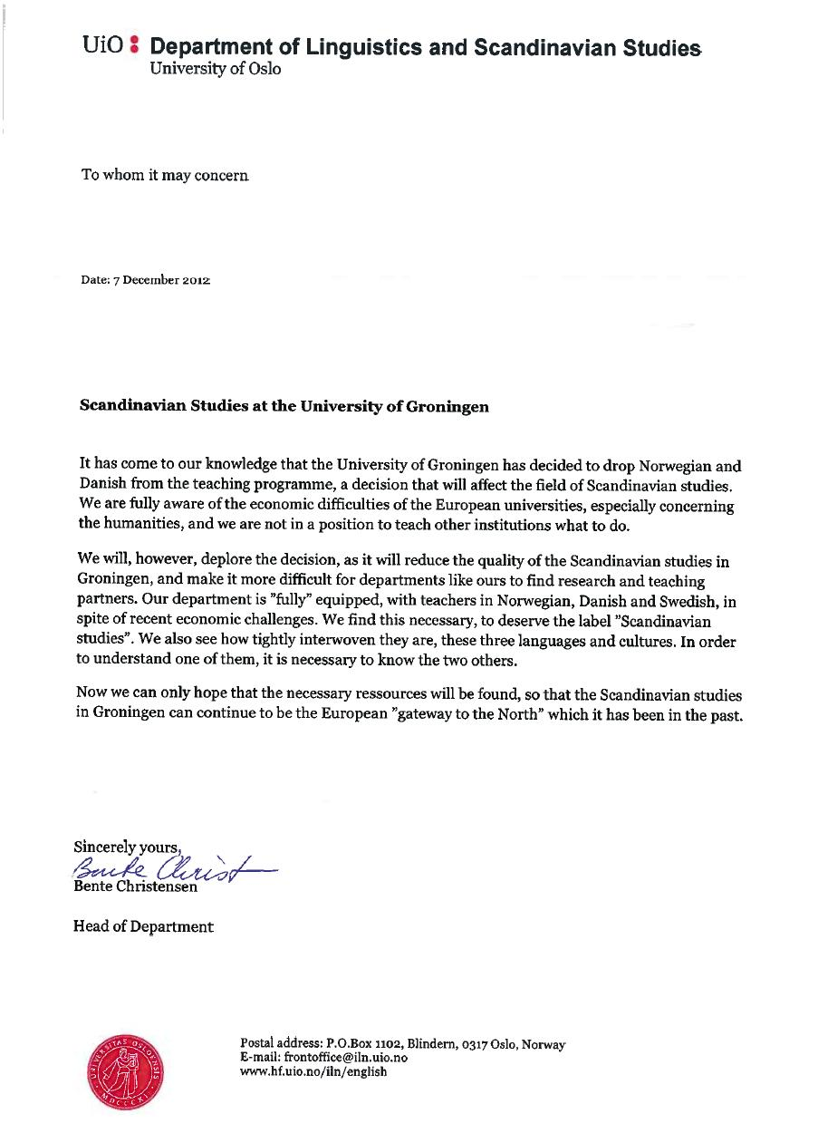 letter of inquiry save languages in groningen big names signed the 1400