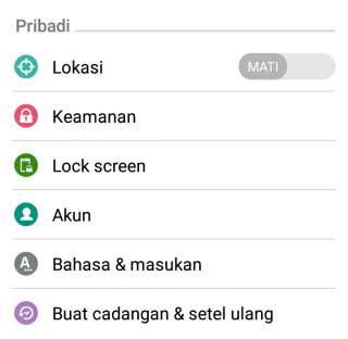 Cara mengunci layar android dengan fitur bawaan android