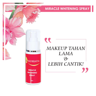 MIRACLE WHITENING SPRAY