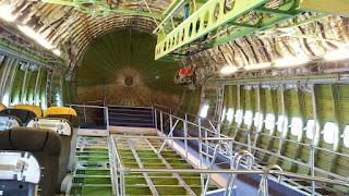 Die Konstruktion der Boing 747.