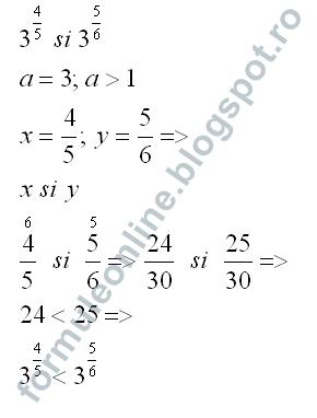 Puterea cu exponent rational exercitiu rezolvat 3
