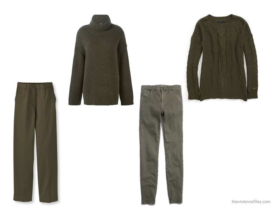 Choosing an Accent Color for Olive Green   The Vivienne Files
