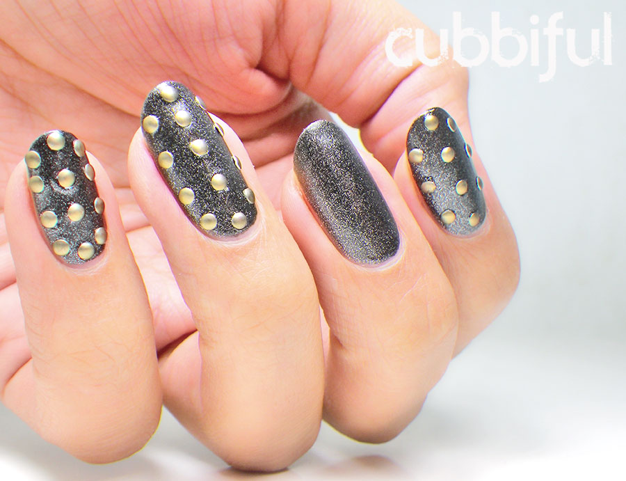 denim and studs nails