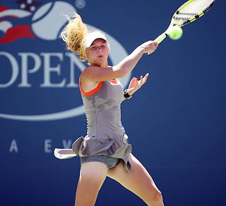 Tennis star upskirt maybe, were