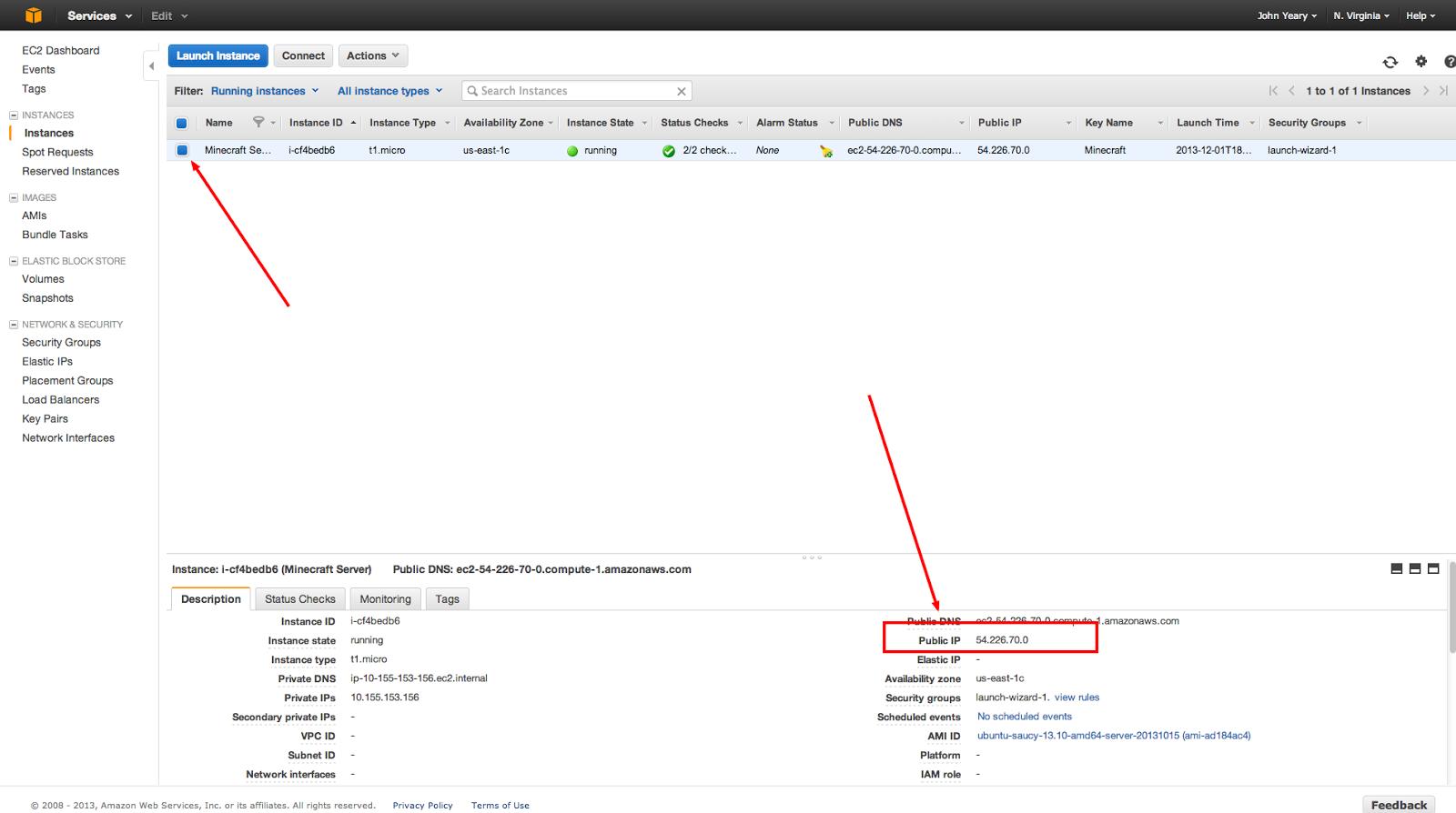 Minecraft Server on Amazon Elastic Compute Cloud (EC2)