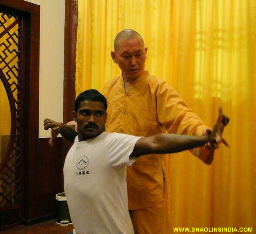 Shaolin Kung-Fu India Indian Kung Fu Master Shifu -9077