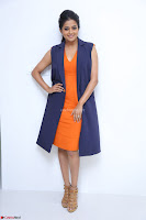 Priyamani in Beautiful Short Deep neck Orange Dress ~  Exclusive 49.JPG