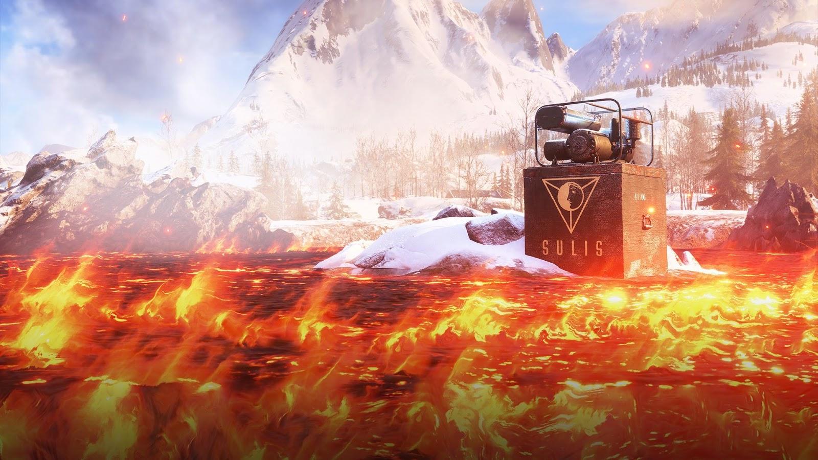 Battlefield V: Objetivos e Reforços em Firestorm