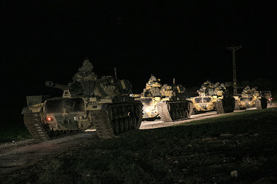 Turkey Launches Ground Offensive Against YPG in Syria