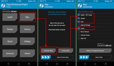 Update Xiaomi Redmi 4X (Santoni) Ke MIUI 9 Via TWRP