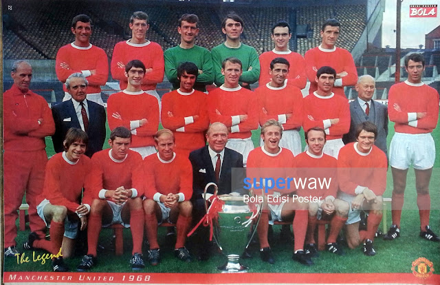 Poster Tim Manchester United 1968