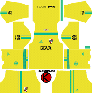River Plate 2018 Kit - Dream League Soccer Kits
