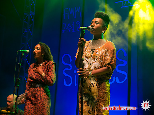 Alsarah &the Nubatones @FMM Sines 2018