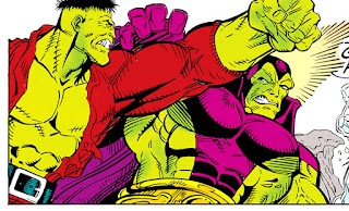 Hulk vs Drax