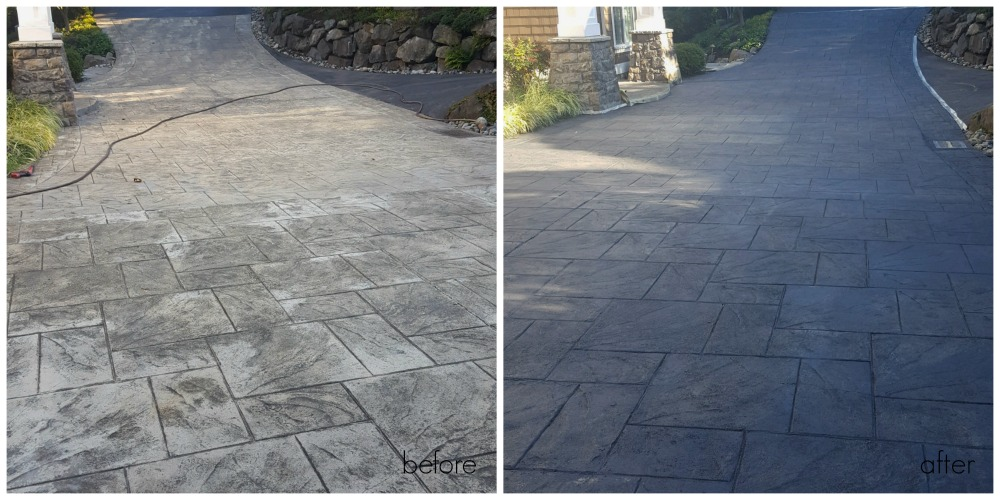 How To Stain Stamped Concrete You Can