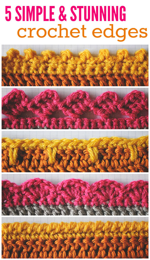 Simple & Stunning Crochet Edges - Tutorials