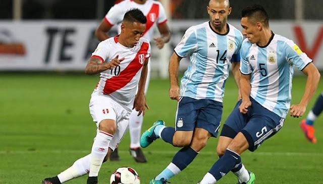 Peru vs Argentina en vivo online Eliminatorias 5 Octubre 2017