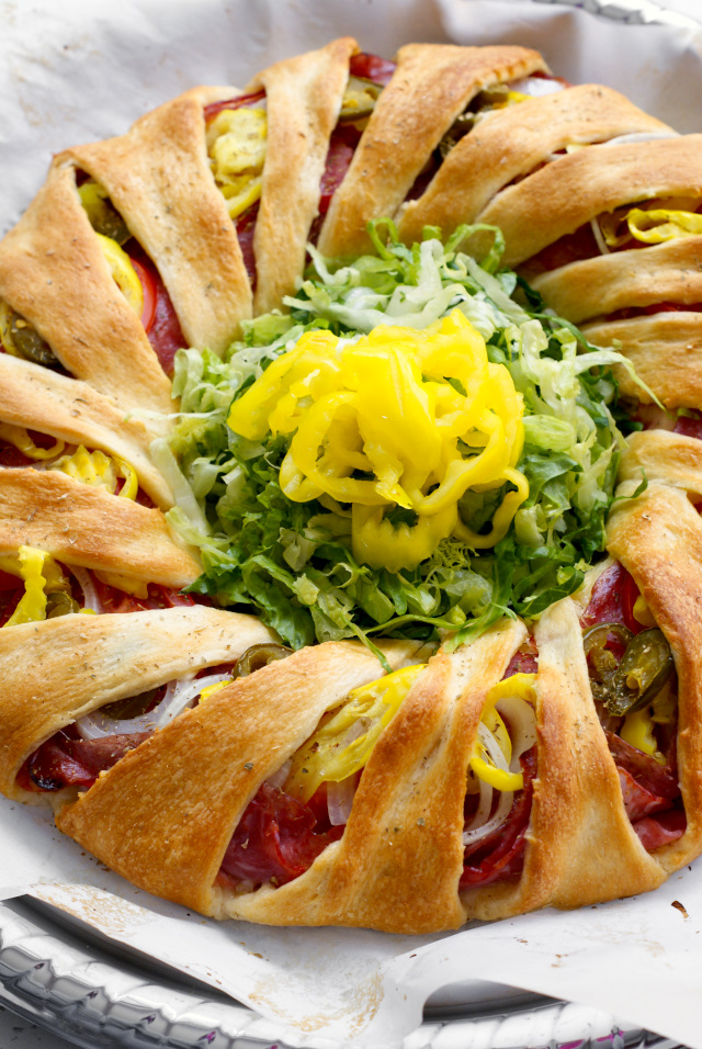 Italian Sub Crescent Roll Ring
