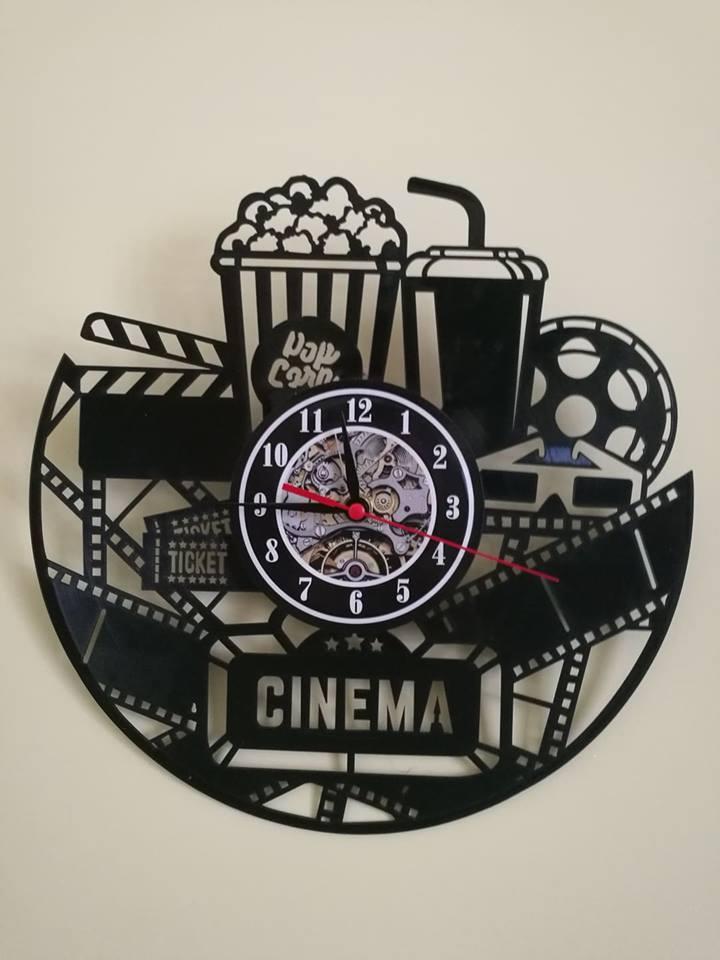 Orologio Da Parete A Tema Cinema