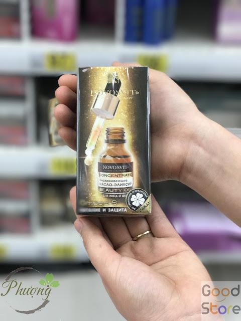 Serum  Novosvit Omega 6 dành cho mặt 25ml