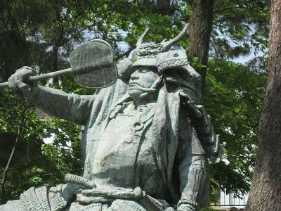 Takeda Shingen statue