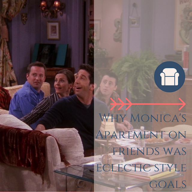 Monica's apartment on Friends