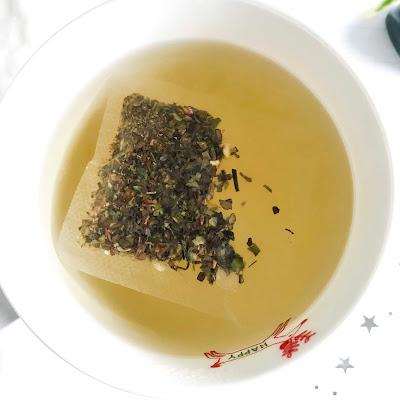 Herbata biała tajska cytryna kwiat granatu big active bigactive big-active