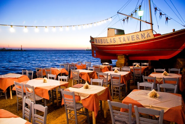 …where it is best enjoyed next to the Mediterranean. (Mykonos.) - 49 Reasons To Love Hellas (Greece)