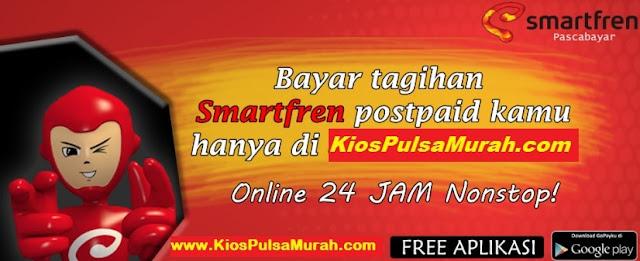 Loket PPOB Pembayaran Tagihan SmartFren Paskabayar