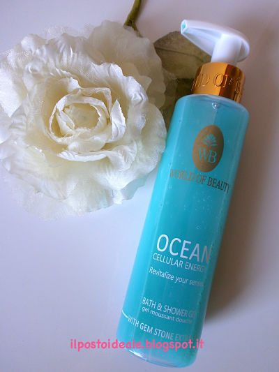 World of Beauty Ocean Shower Gel