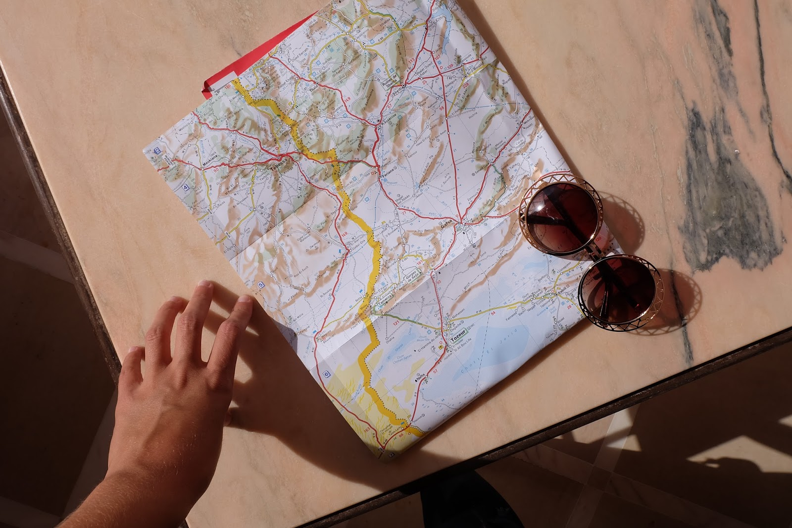 tunisia road trip
