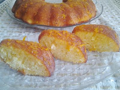 portakallı tatlı yapılışı