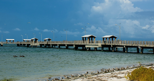 Fort De Soto Park is also of the historical fortress