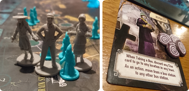 Pandemic: Reign of Cthulhu character miniatures