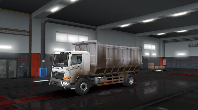 Hino 500 V2 by RTGD - ETS2