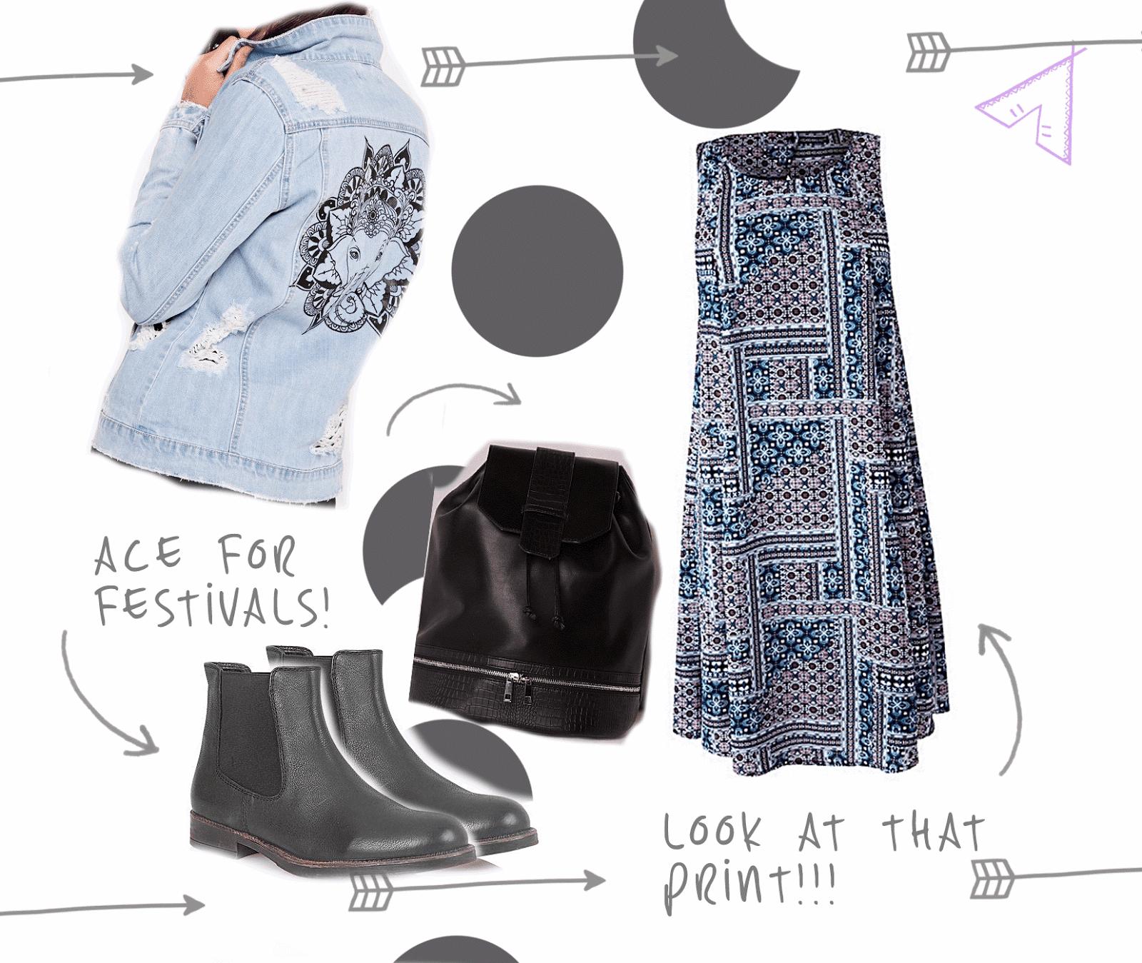 summer dress festival outfit ideas uk fashion blogger