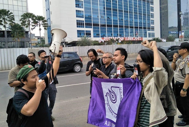 Forum Pekerja Media Kecam Massa PDIP Geruduk Radar Bogor