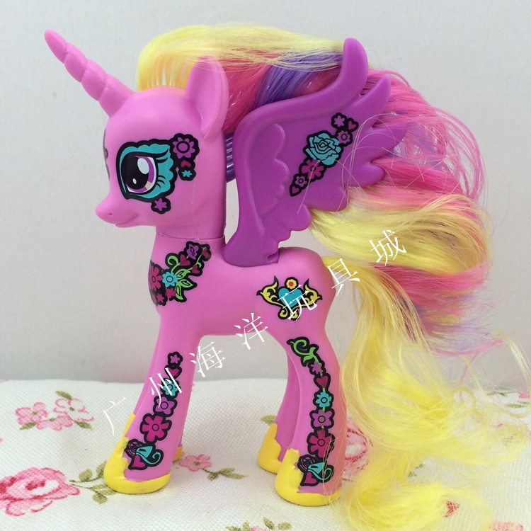 My Little Pony Princess Cadance Brushable with Flower Markings