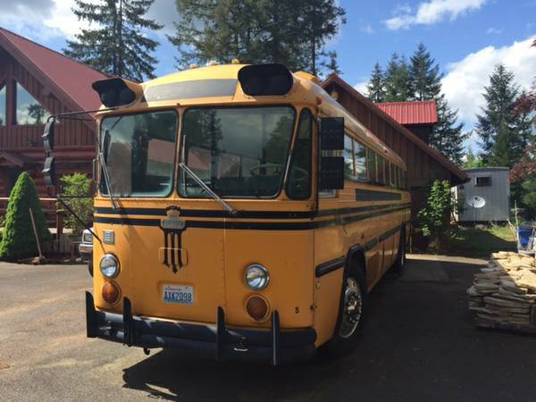 Perfect to Converted, 1976 36ft Crown Bus