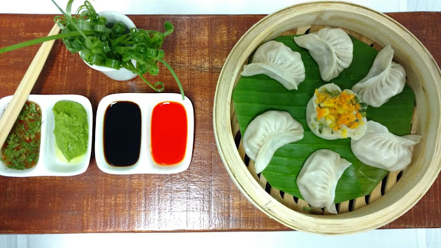 DIM SUMS AND SATAYS AT MY FORTUNE BENGALURU
