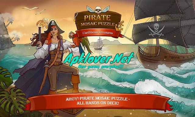 Pirate Mosaic Puzzle MOD APK