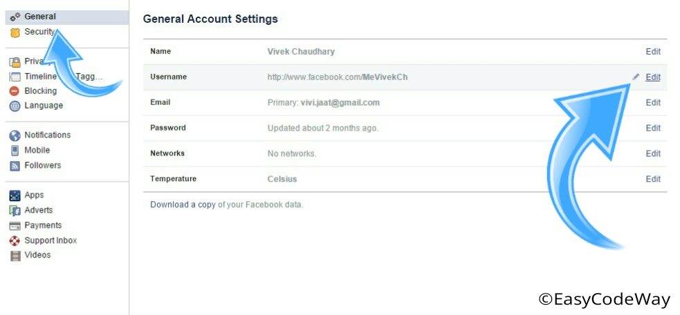 Facebook Custom Url For Your Profile