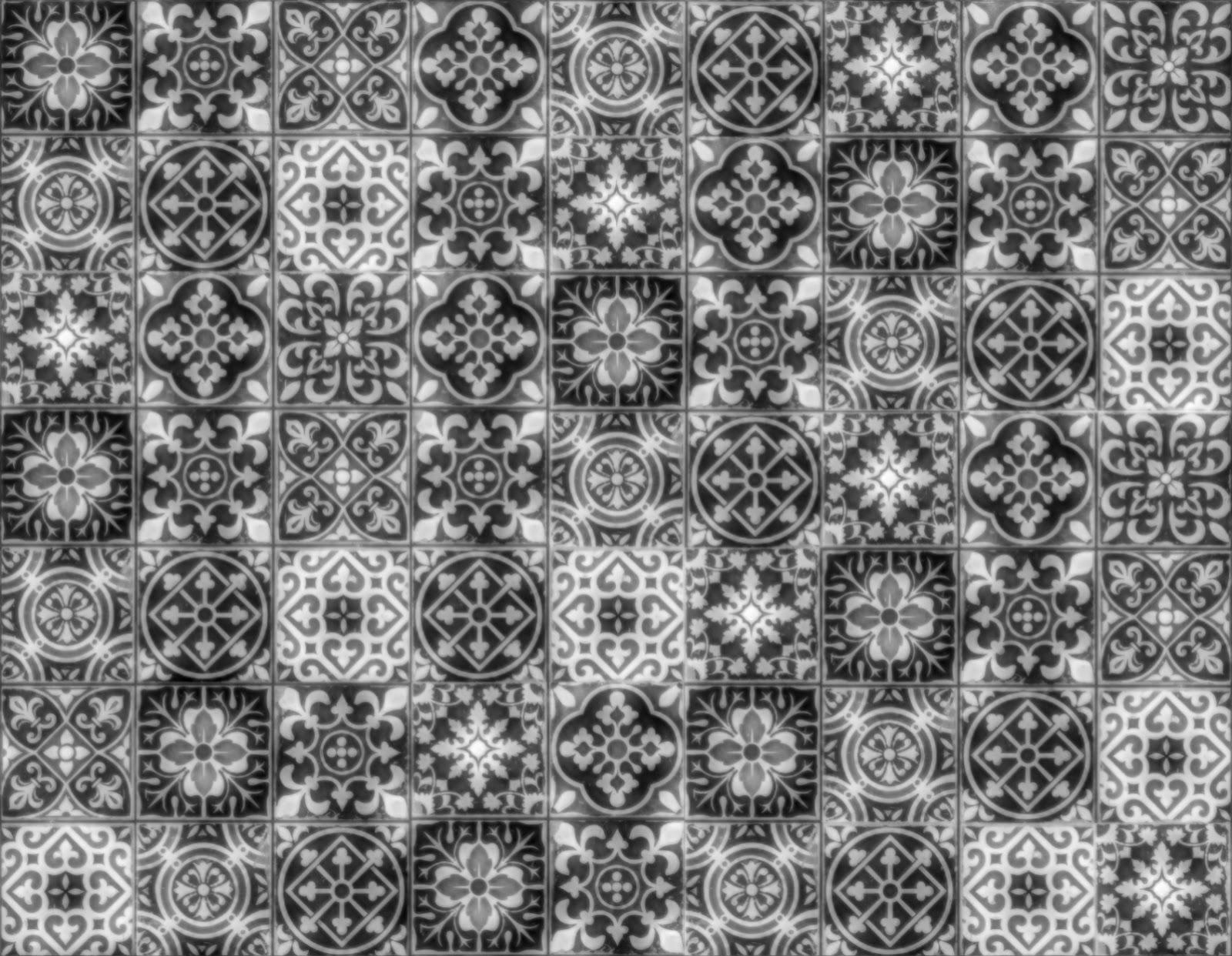 Seamless Patchwork Tiles Texture