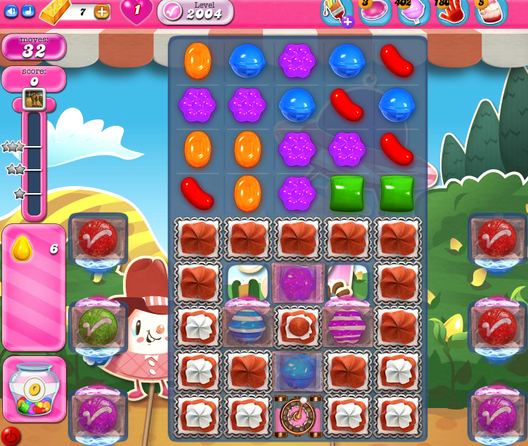 Candy Crush Saga 2004